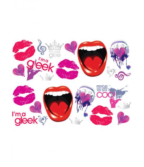 Glee Stikarounds Wall Stickers 23 pieces