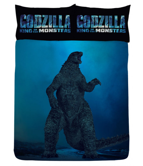Godzilla Vs Ghidorah copripiumino matrimoniale ufficiale