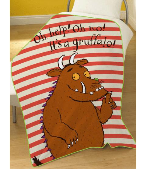Gruffalo Oh Help Fleece Blanket