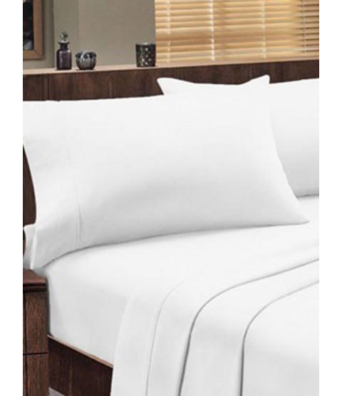 Dorchester 1000 TC 100% Cotton Oxford Pillowcase Pair, White