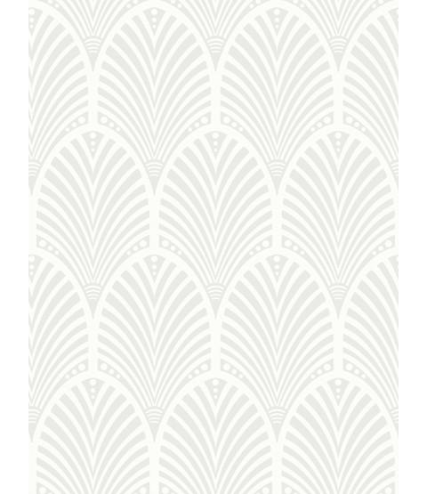 Gatsby Art Deco Glitter Wallpaper Dove Grey and White Holden Decor 65251