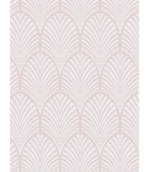 Dusky Pink Gatsby Art Deco Wallpaper Holden Decor 65252