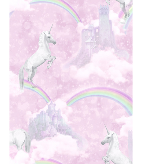 I Believe in Unicorns Wallpaper Pink Holden 12480