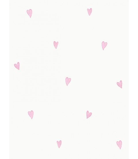 Love Hearts Wallpaper Pink Holden 12581