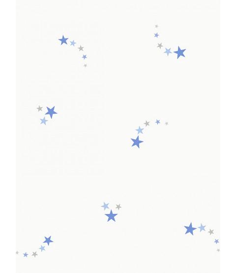 Shooting Stars Wallpaper Blue Holden 12590