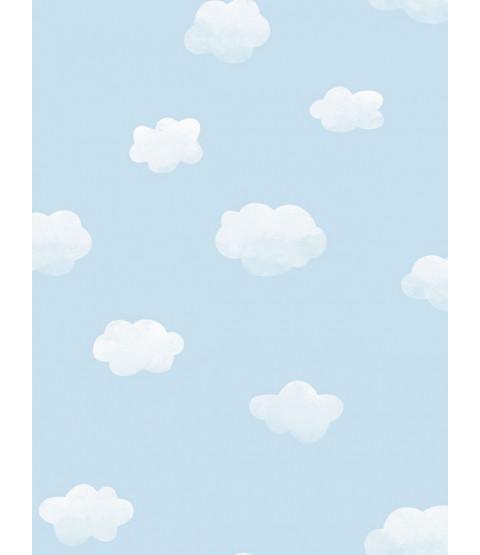 Au-dessus de l'arc-en-ciel ciel nuageux Wallpaper Blue Holden 90991