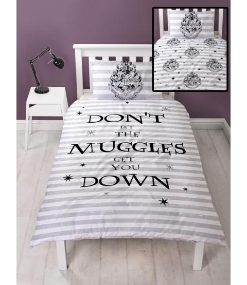 Harry Potter Spell Single Reversible Duvet Cover Set