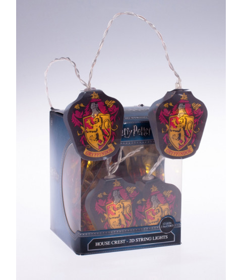Harry Potter Gryffindor 2D LED String Lights