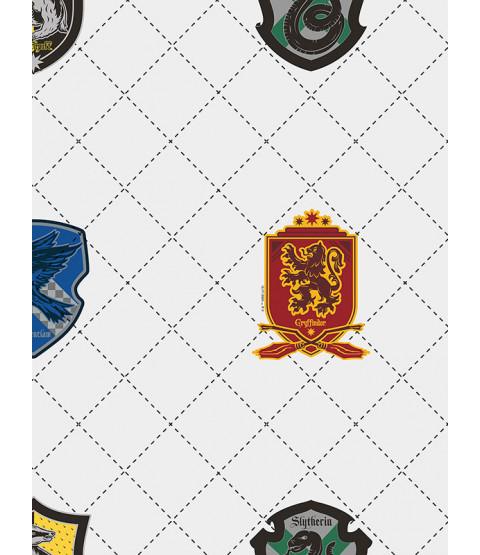 Sfondo Graham & Brown Harry Potter House Pride Bianco / Multi 108699