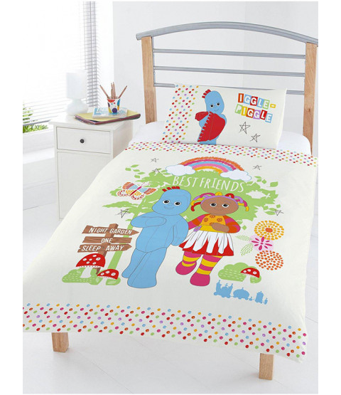 In The Night Garden Best Friends 4 in 1 Toddler Bedding Set (Duvet, Pillow and Covers)