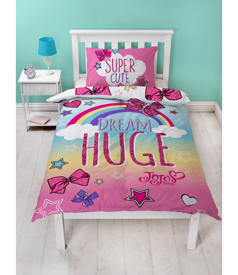 JoJo Siwa Bows Single Duvet Set