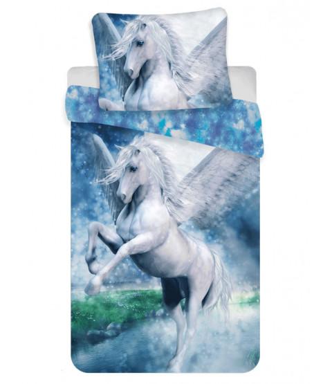 Set copripiumino singolo in cotone Pegasus