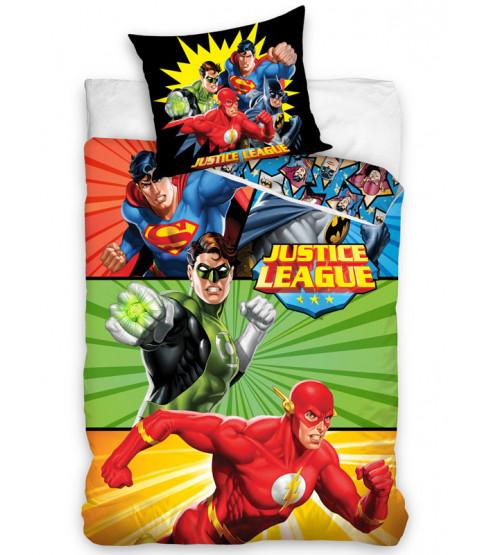 Justice League Single Cotton Duvet Cover Set