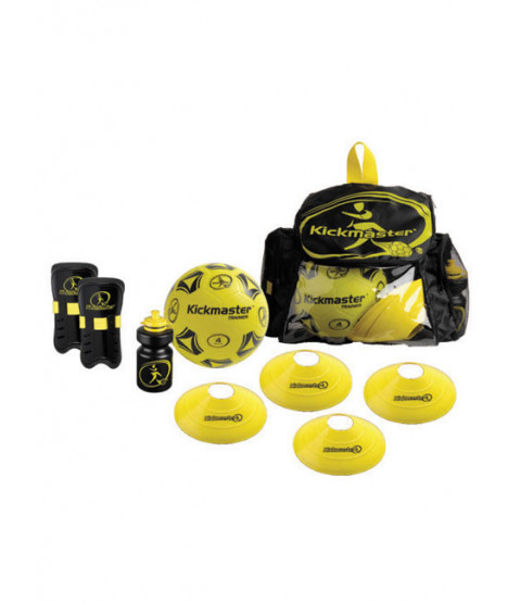 Kickmaster Football Backpack Training Set