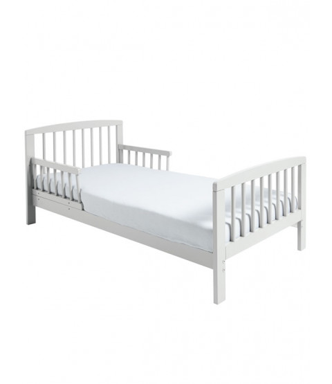 Classic Wooden Toddler Bed White