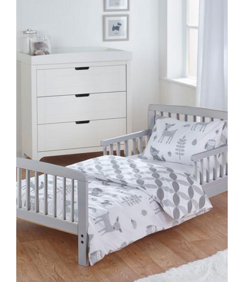 Woodland Tales 3 Piece Junior Toddler Bedding Set