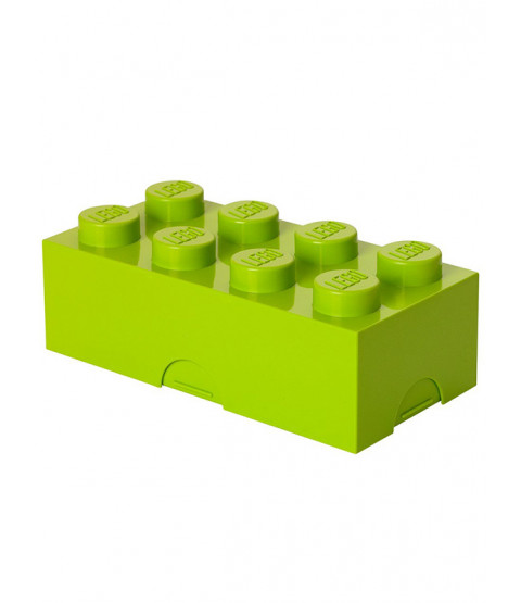 Lego Lunch Storage Box Lime Green