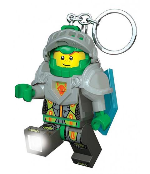 Lego Portachiavi Aaron Nexo Knights con Shield Power Code