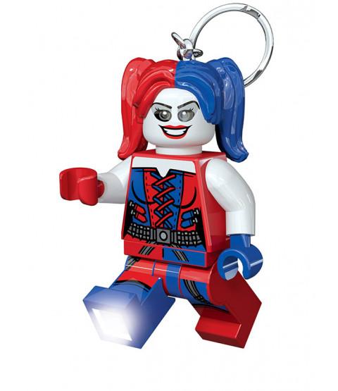 Lego DC Superheroes Harley Quinn Keylight Keyring