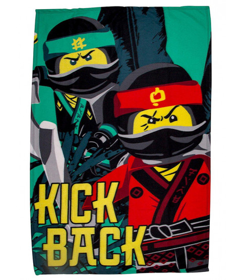 Lego Ninjago Movie Fleece Blanket