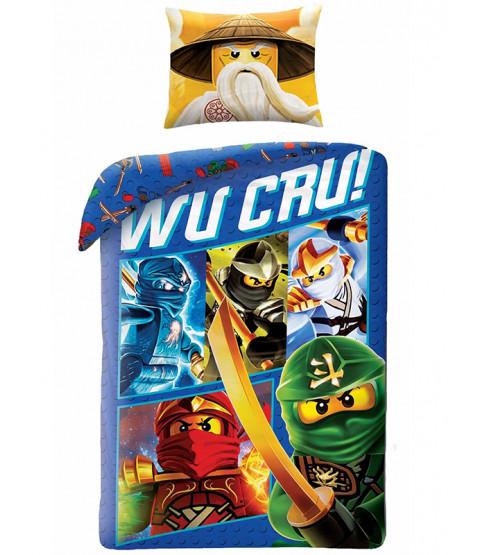 Lego Ninjago Set copripiumino e federa singolo Wu Cru