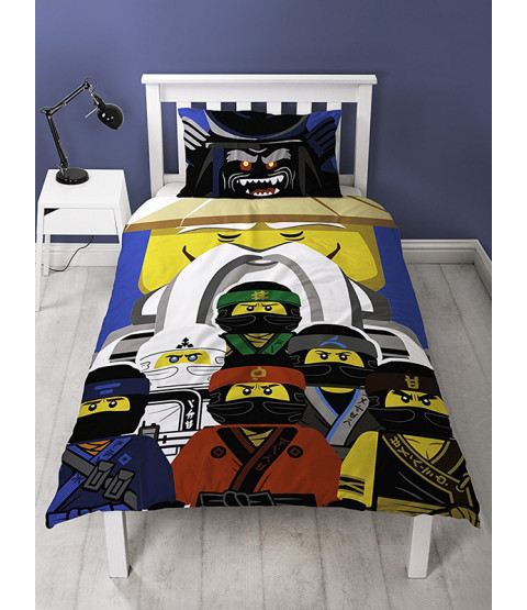 Lego Ninjago Movie Guru Single Duvet Cover Bedding Set