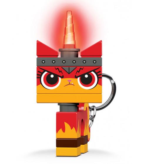 Lego Movie Ultrakatty Keylight Keyring