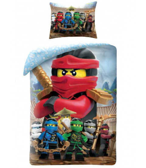 Lego Ninjago Single Cotton Duvet Cover Set
