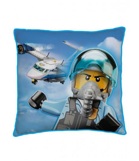 Lego City On The Run Square Cushion