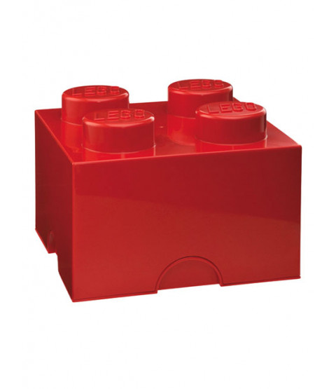 Lego Storage Brick Box 4 - More Colours Available