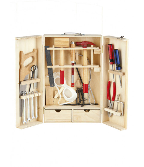 Leomark Wooden Tool Set - 30 pieces