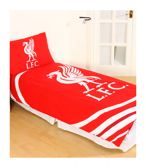 Liverpool FC Pulse Single Duvet Cover and Pillowcase Set