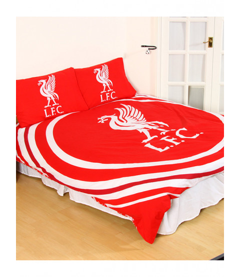 Liverpool FC Pulse Double Duvet Cover Bedding Set