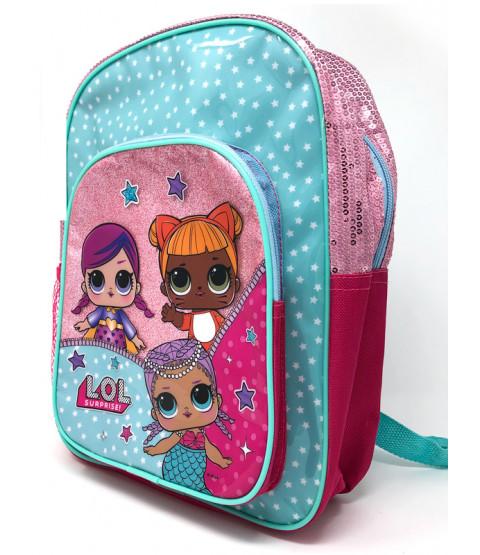 LOL Surprise Deluxe Glitter Backpack