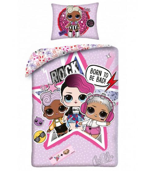 LOL Surprise Rock Single Cotton Duvet Cover Set