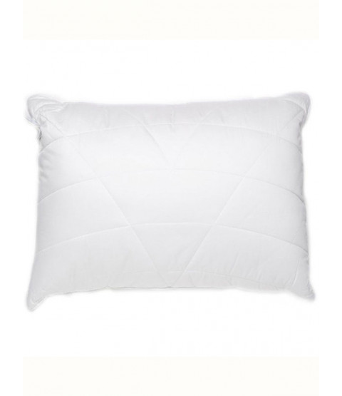 Luxury Quilted Box Bamboo Anti-Bacterial Hypo-Allergenic Pillow - Soft