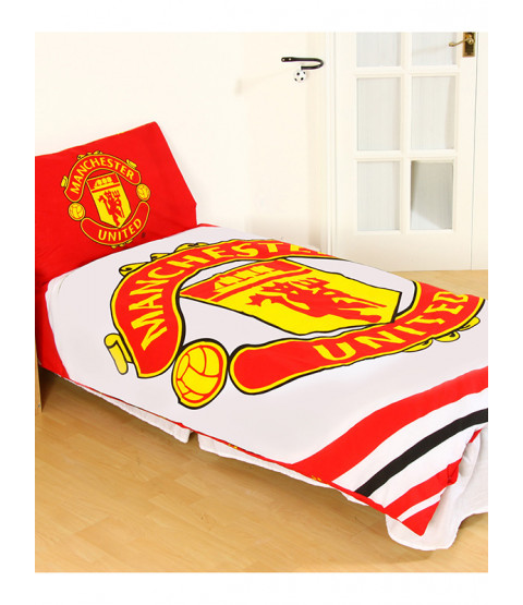 Manchester United FC £50 Bedroom Makeover Kit Duvet Cover