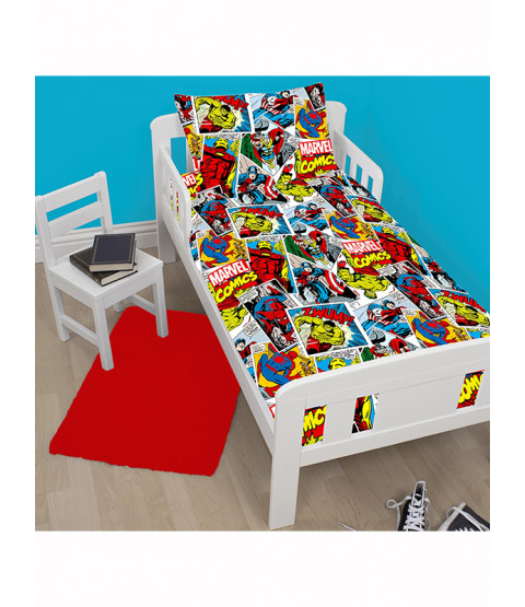 Marvel Comics Justice 4 in 1 Junior Bedding Bundle
