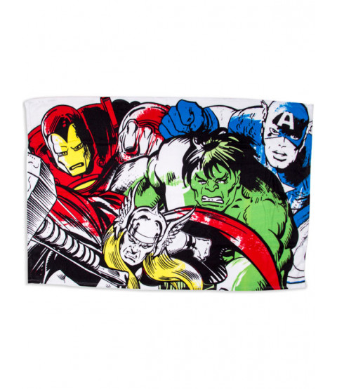 Marvel Comics Crop Fleece Blanket