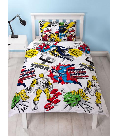 Marvel Comics $88.55 Bedroom Makeover Kit Duvet Cover Front