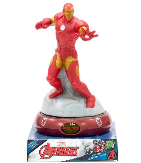 Marvel Avengers Iron Man 3D Figure Night Light Lamp