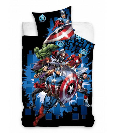 Marvel Avengers 100% Cotton Single Duvet Set  - European Size