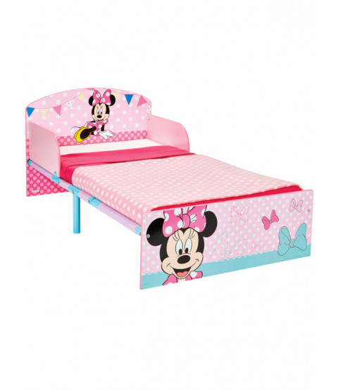 Minnie Mouse Toddler Bed - Pink