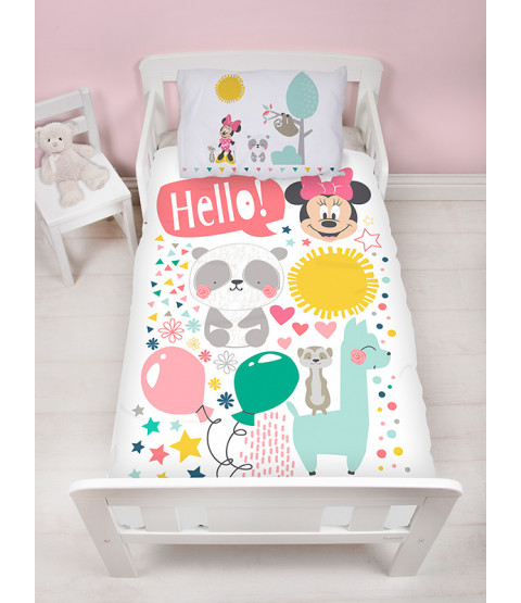 Minnie Mouse Friends Junior Duvet Cover and Pillowcase Set