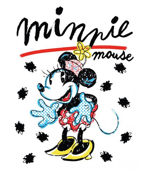 Coperta in pile retrò di Minnie Mouse