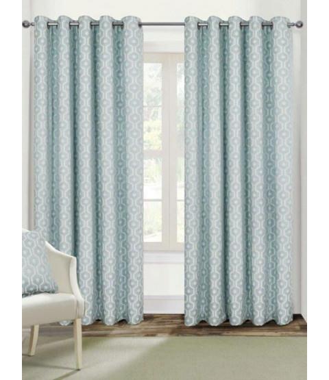 Belle Maison Lined Eyelet Curtains - Milano Range