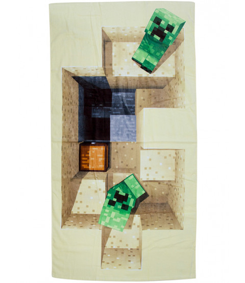 Minecraft Defeat Towel