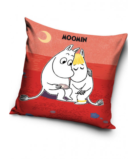 Moomin Red Filled Cushion