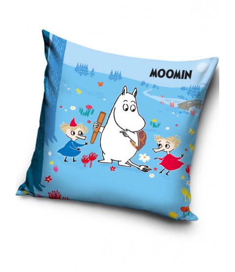 Moomin Blue Filled Cushion