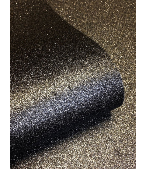 Black Sparkle Glitter Wallpaper -  701353 Muriva
